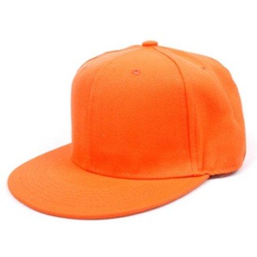 Huismerk Dancing Snapback Cap Oranje