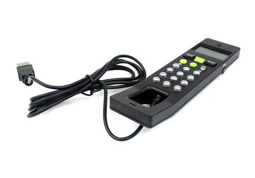 LCD Skype VoIP Handset Telefoon Zwart