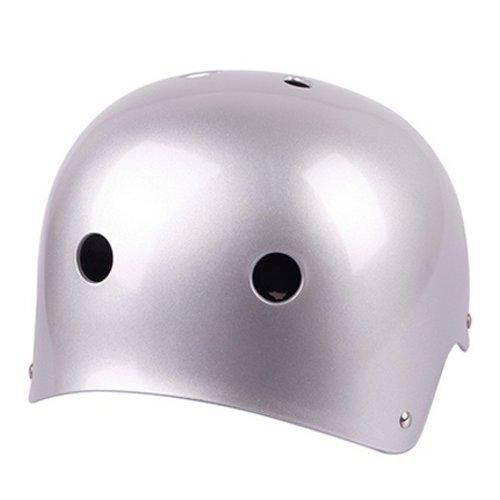 Huismerk BMX Helm Mat Grijs L