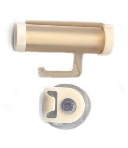 Huismerk Plastic Tandpasta Roller Wit