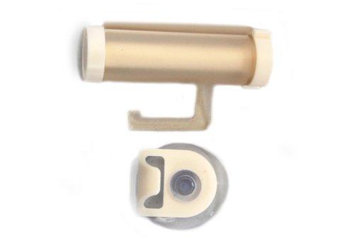 Plastic Tandpasta Roller Wit