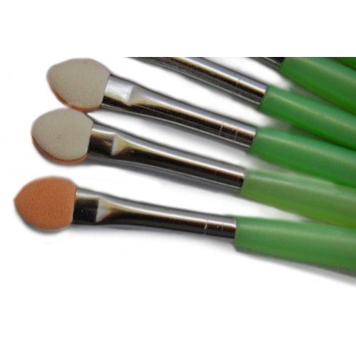 Huismerk Oogschaduw make-up Kwast Groen
