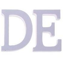 Houten Decor Letter E