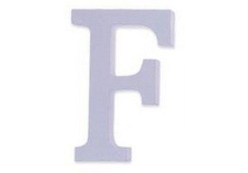 Huismerk Houten Decor Letter F