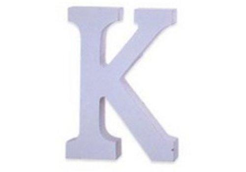Houten Decor Letter K