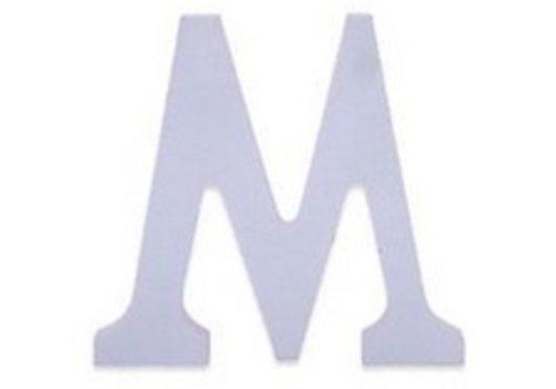 Huismerk Houten Decor Letter M