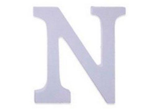 Huismerk Houten Decor Letter N