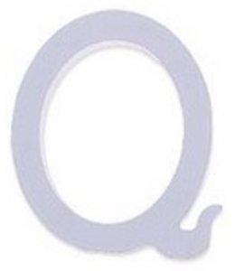 Huismerk Houten Decor Letter Q