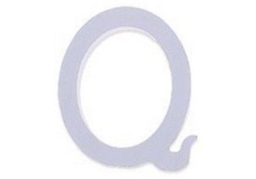 Houten Decor Letter Q