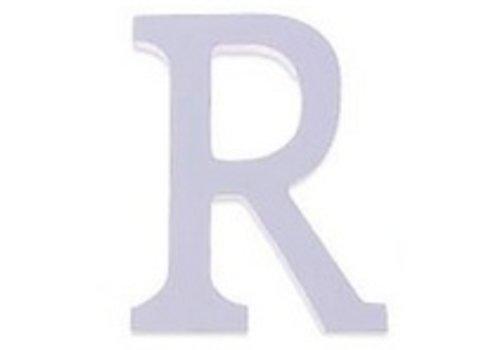 Huismerk Houten Decor Letter R