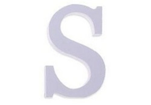 Houten Decor Letter S