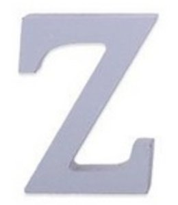 Huismerk Houten Decor Letter Z