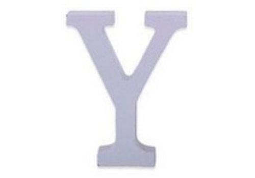 Huismerk Houten Decor Letter Y