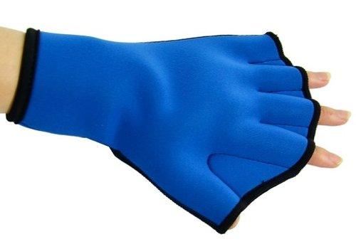 Huismerk Vingerloze Zwemvliezen Blauw L