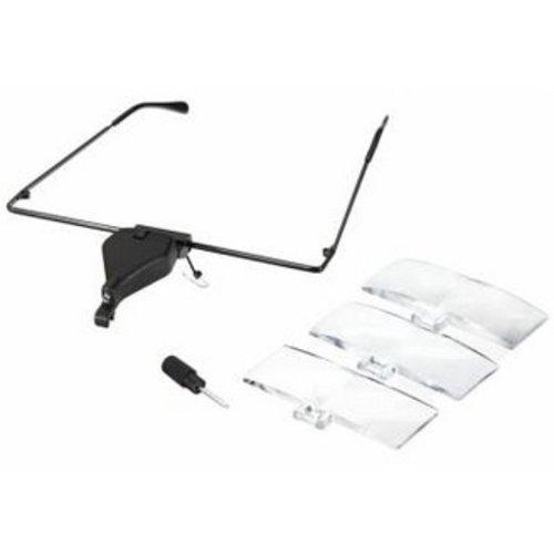 Huismerk LED Vergrootglas Bril