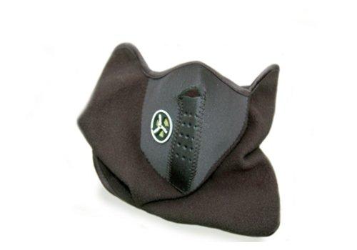 Gezicht Kin Oren Masker Zwart