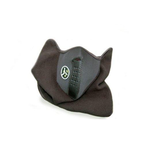 Huismerk Gezicht Kin Oren Masker Zwart