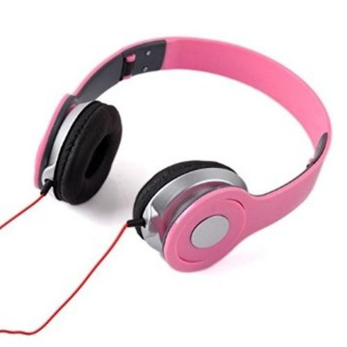 Huismerk Koptelefoon Sport Roze