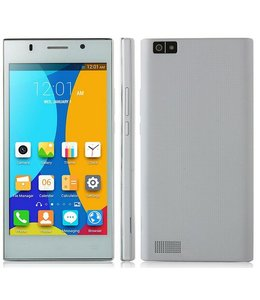 Huismerk Android 4.4 Dual SIM Smartphone V9 Wit