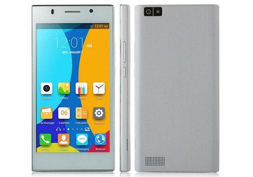 Huismerk Android 4.4 Dual SIM Smartphone V9 Wit