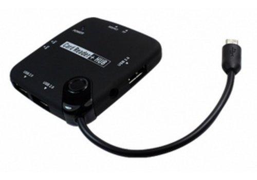 7 Poort Micro USB 3.0 Hub