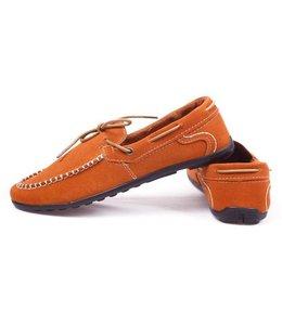 Huismerk Casual Loafer Schoenen Oranje