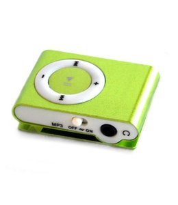 Huismerk Mini USB MP3 Music Media Player Groen