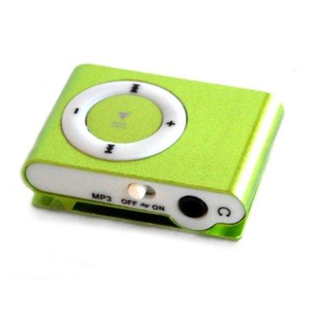 Huismerk Mini USB MP3 Music Media Player Groen