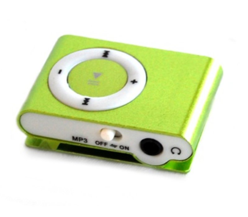 Mini USB MP3 Music Media Player Groen