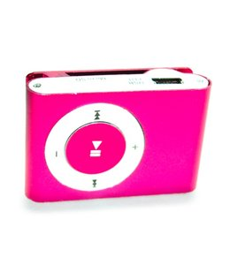 Huismerk Mini USB MP3 Music Media Player Roze