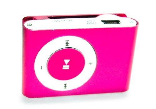 Huismerk Mini USB MP3 Music Media Player Roze
