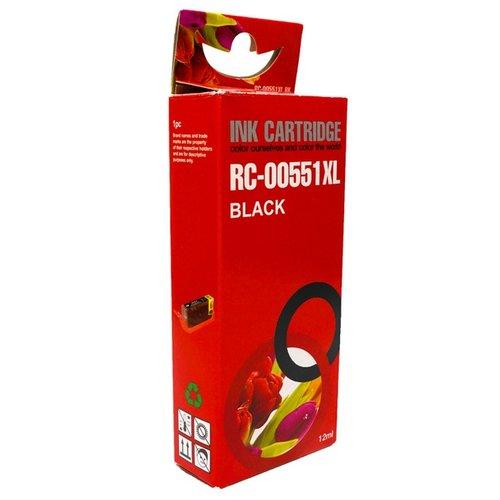 Huismerk Canon CLI-551BK zwart Inktjet cartridge