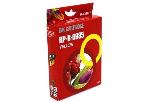 Huismerk Brother LC-985Y geel Inktjet cartridge