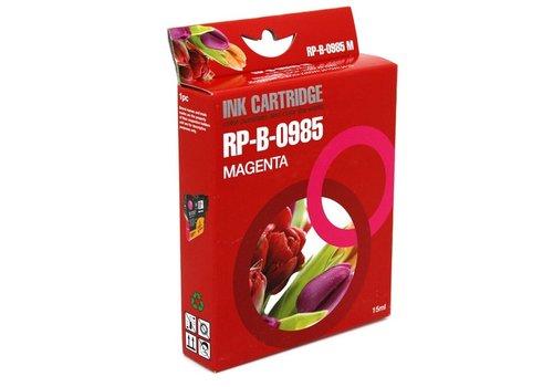 Huismerk Brother LC-985M magenta Inktjet cartridge