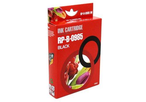 Huismerk Brother LC-985BK zwart Inktjet cartridge