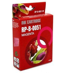 Huismerk Brother LC-970M / LC-1000M magenta Inktjet cartridge