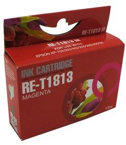 Huismerk Epson 18XL magenta Inktjet cartridge