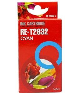 Huismerk Epson 26 cyaan Inktjet cartridge