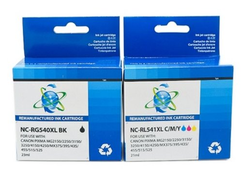 Huismerk Canon PG-540XL / CL-541XL Multipack 2 stuks (Compatible)