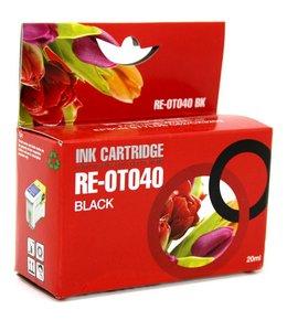 Huismerk Epson T040 zwart Inktjet cartridge