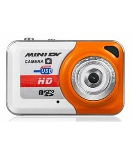 Huismerk Mini Sport Camera Camcorder X6 Oranje Video Foto
