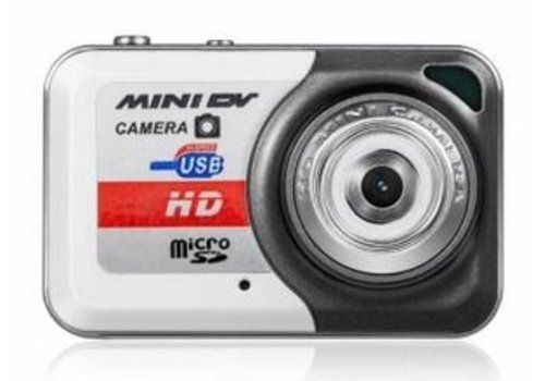 Huismerk Mini Sport Camera Camcorder X6 Zwart