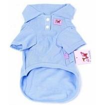 Cotton Honden Polo L Blauw