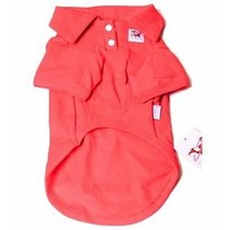 Cotton Honden Polo L Rood