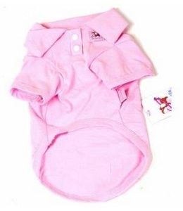 Huismerk Cotton Honden Polo XS Roze