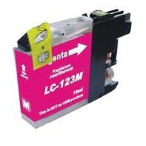 Brother LC-123M Magenta Inktjet cartridge