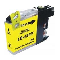 Brother LC-123Y Geel Inktjet cartridge