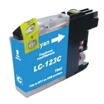 Brother LC-123C Cyaan Inktjet cartridge