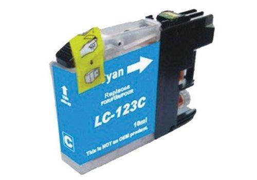 Huismerk Brother LC-123C Cyaan Inktjet cartridge