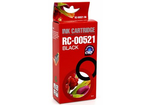 Huismerk Canon CLI-521B zwart Inktjet cartridge